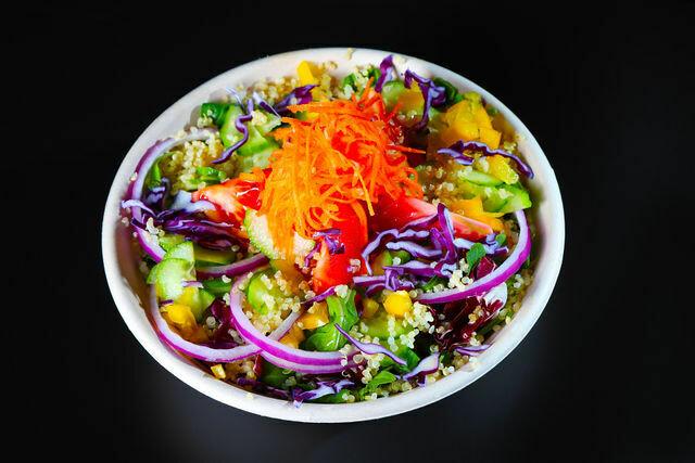 Quinoa Rainbow Salad