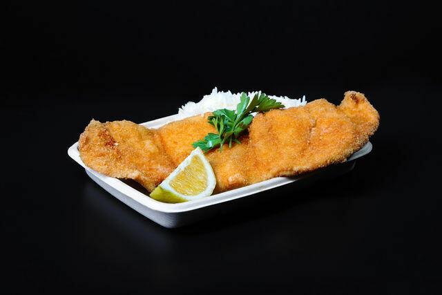 Chicken Schnizel Dinner