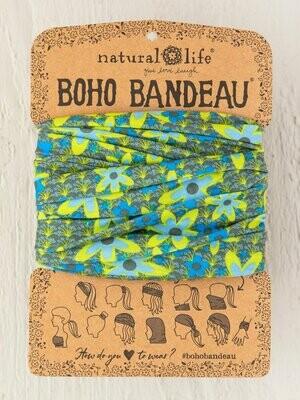 Boho Bandeau Blue And Green