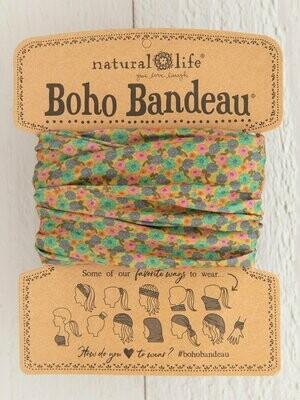 Mustard Floral Boho Bandeau