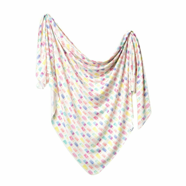 Single Knit Swaddle Blanket - Summer