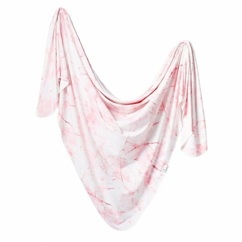 Single Knit Swaddle Blanket - Roxy