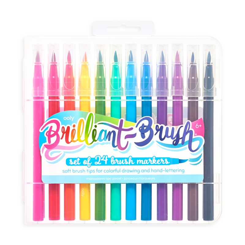 Brilliant Brush 24 Markers