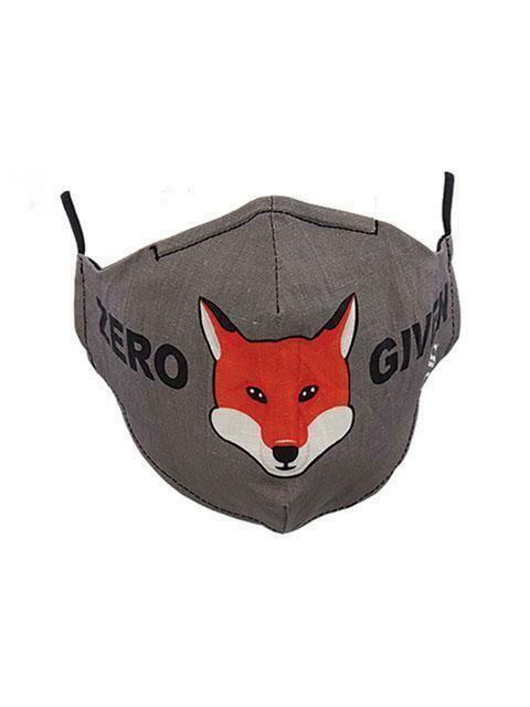 """Mask Zero """"Fox"""" Given"""