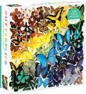 Rainbow Butterflies - Puzzle