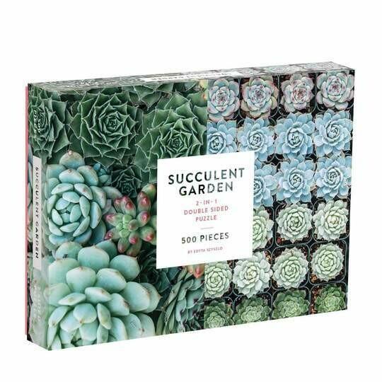 Succulent Garden - Puzzle