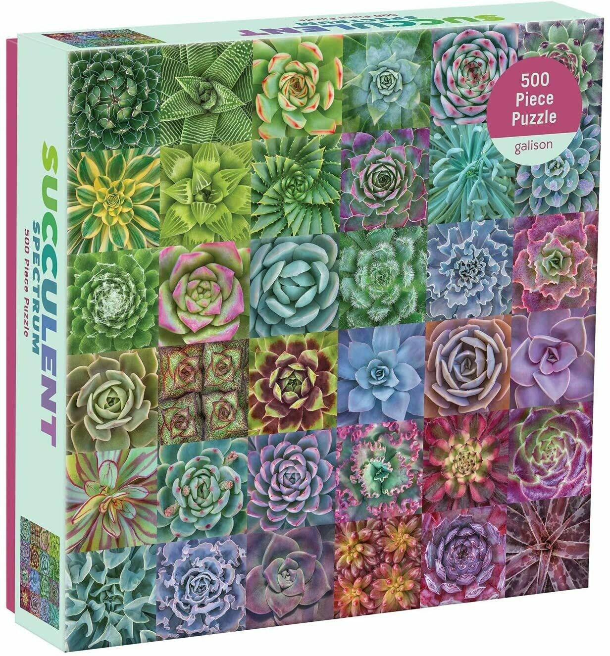 Succulent Spectrum - Puzzle