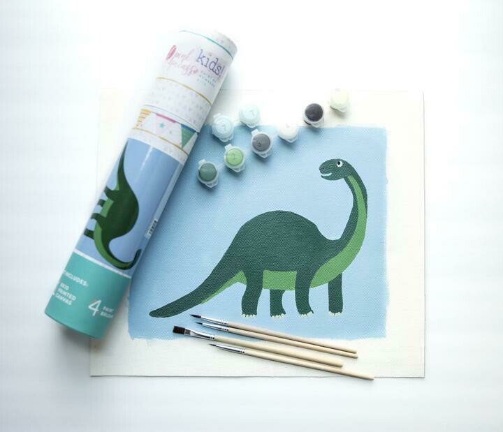 Donny Dino Kids Paint by Numbers Kit