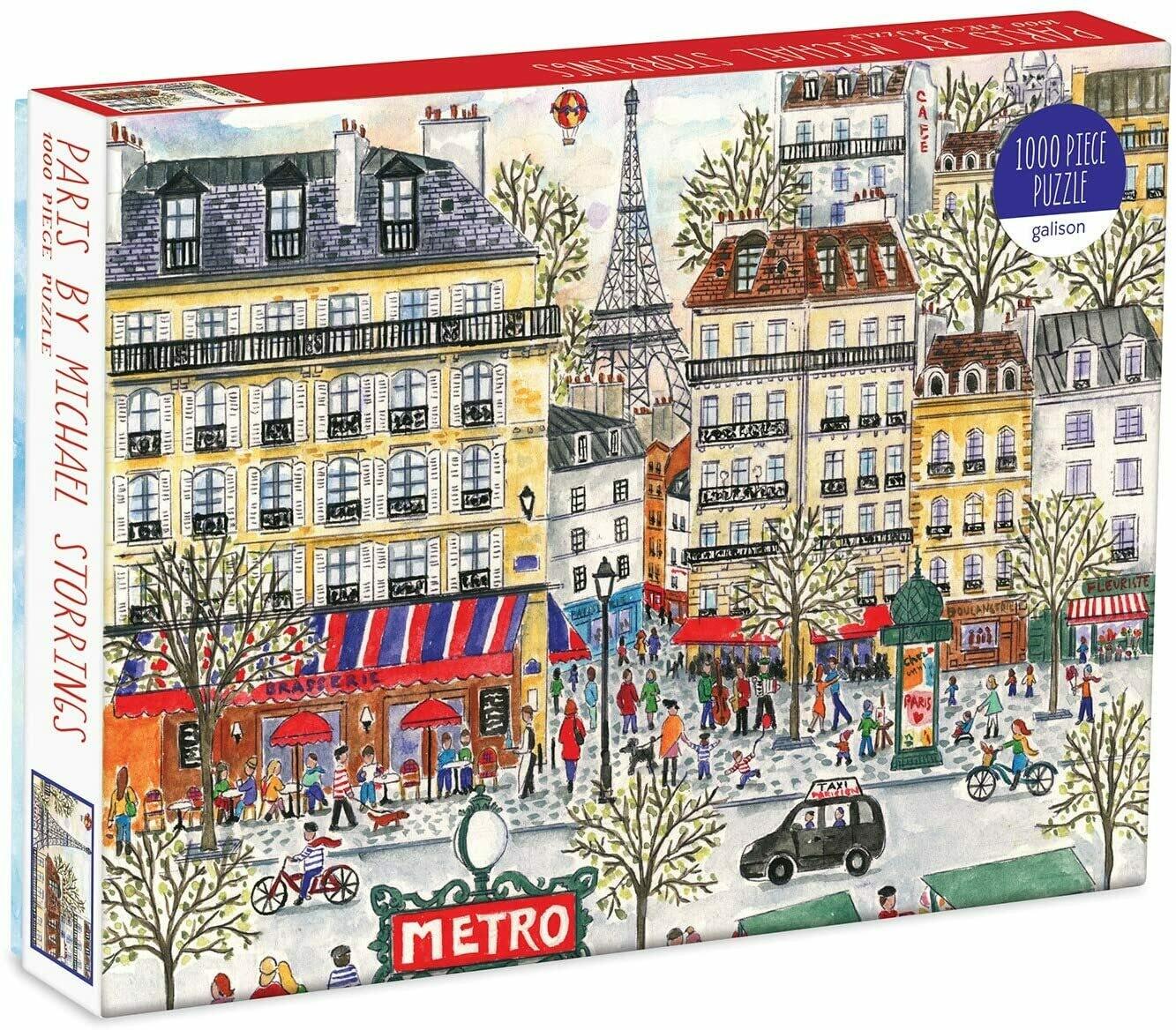 Paris by Michael Storrings - Puzzle