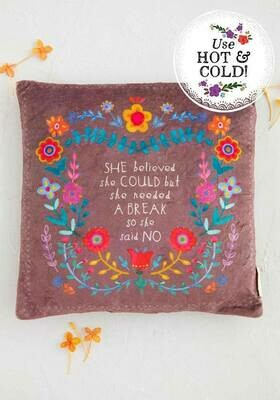 She Believed She Could Lg Square Heating Pad