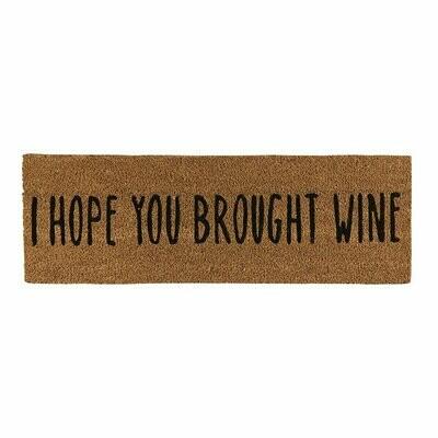 Brought Wine Door Mat