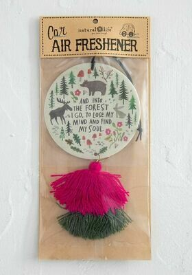 And Into the Forest I Go Air Freshener