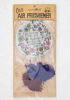 A Wise Girl Once Said Air Freshener