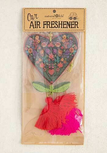 Floral Heart Air Freshener
