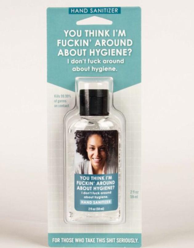 F'ing Around Hygiene Hand Sanitizer