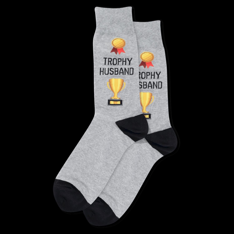 Trophy Husband SWTGH Mens Sock