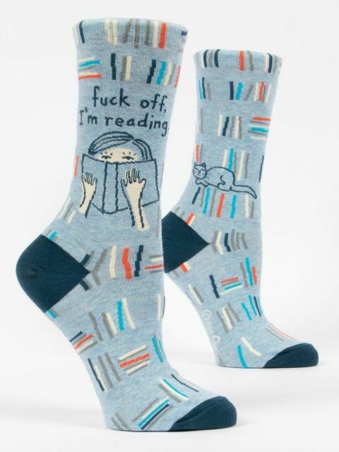 F Off I'm Reading Womens Sock