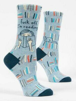 F Off I'm Reading Womens Sock