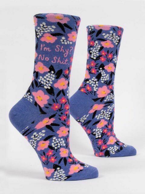 I'm Shy? Womens Sock