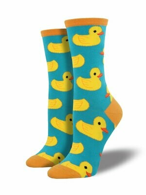 Rubber Ducky Turquoise - Women