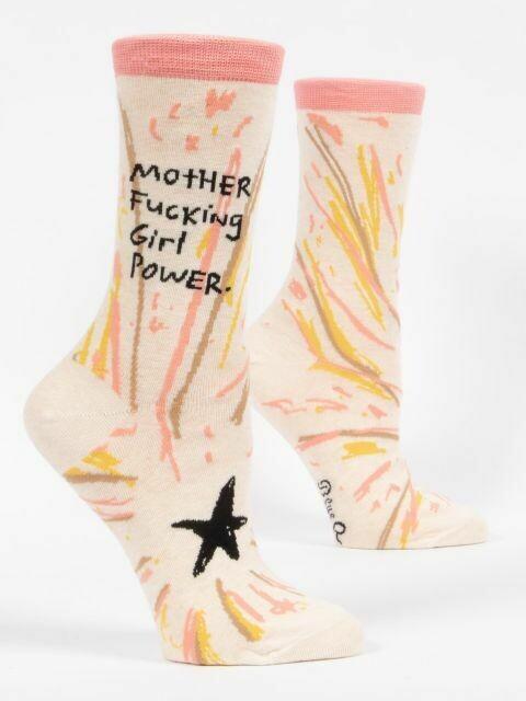 Mother Fucking Girl Power Women's Socks