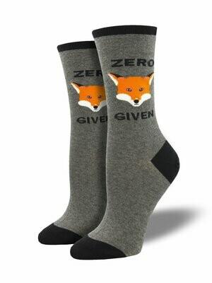 Zero Fox Given Women's Socks