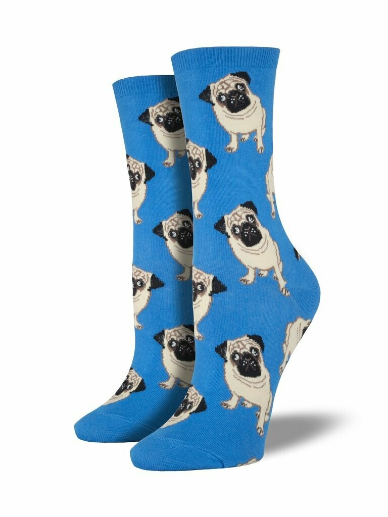 Pugs Blue - Women