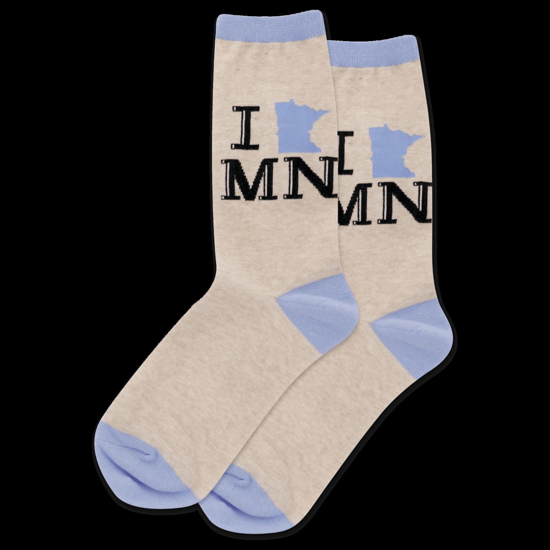 I Heart MN Women's Socks