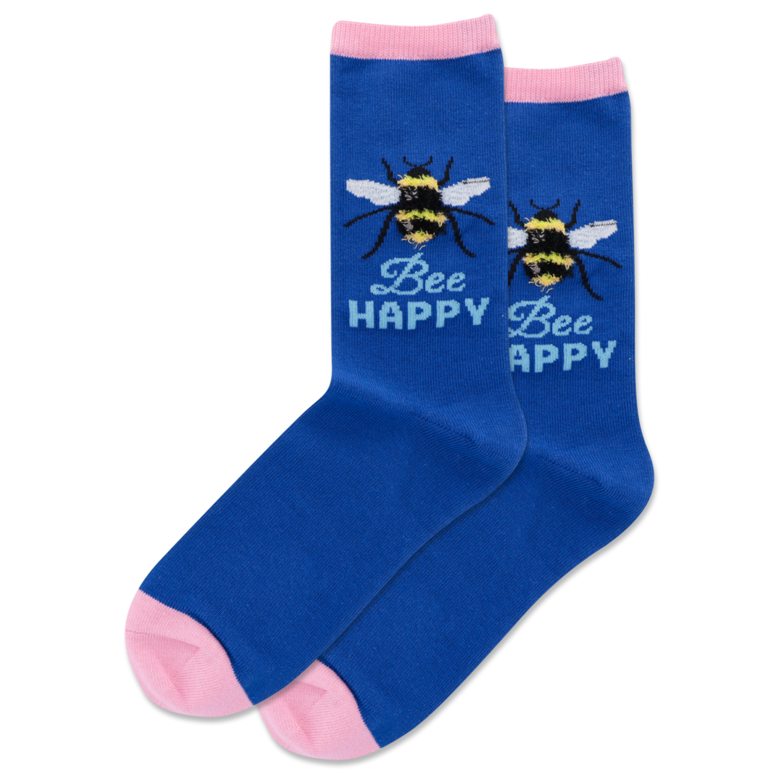 Bee Happy - DKBLU Womens Socks