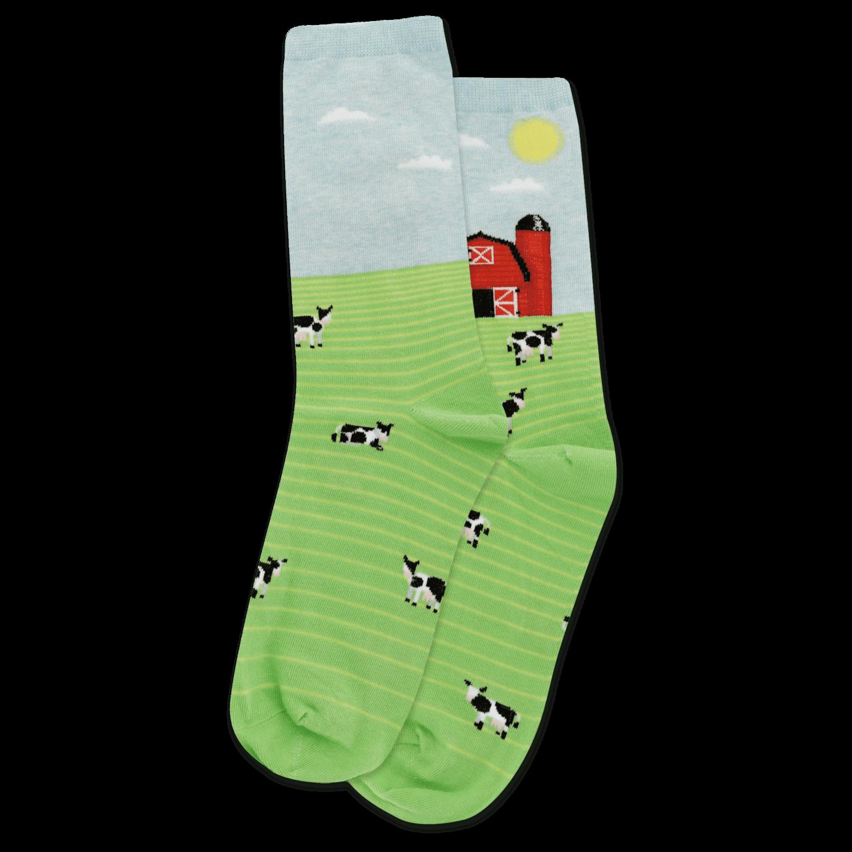 Farm Scene - MNTMN Womens Socks