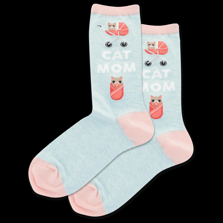Cat Mom - MNTML Womens Socks