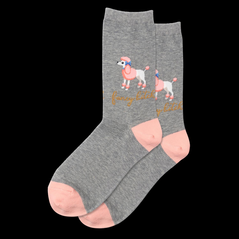 Fancy Bitch GREYH Womens Sock