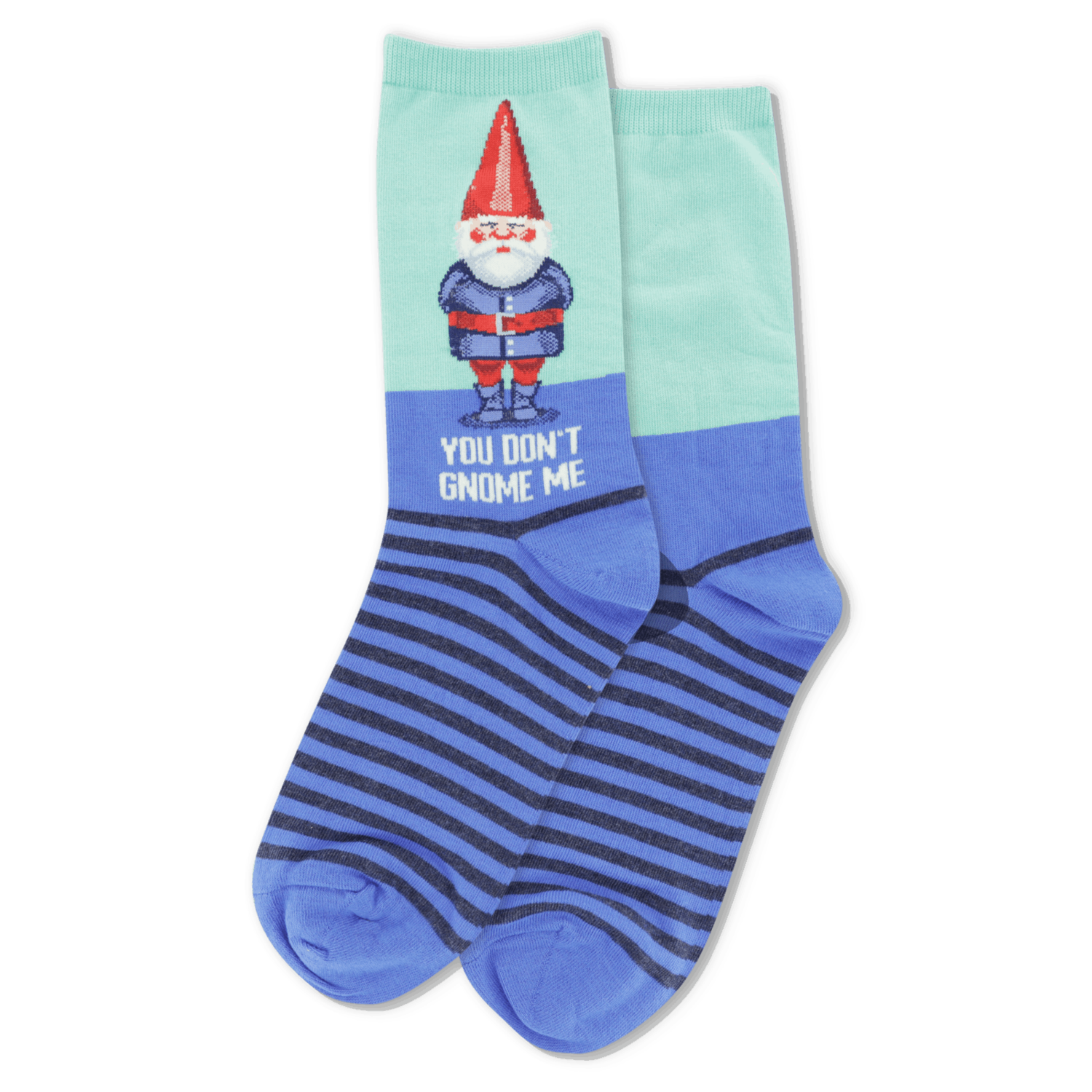 You Don't Gnome Me MINT Womens Sock