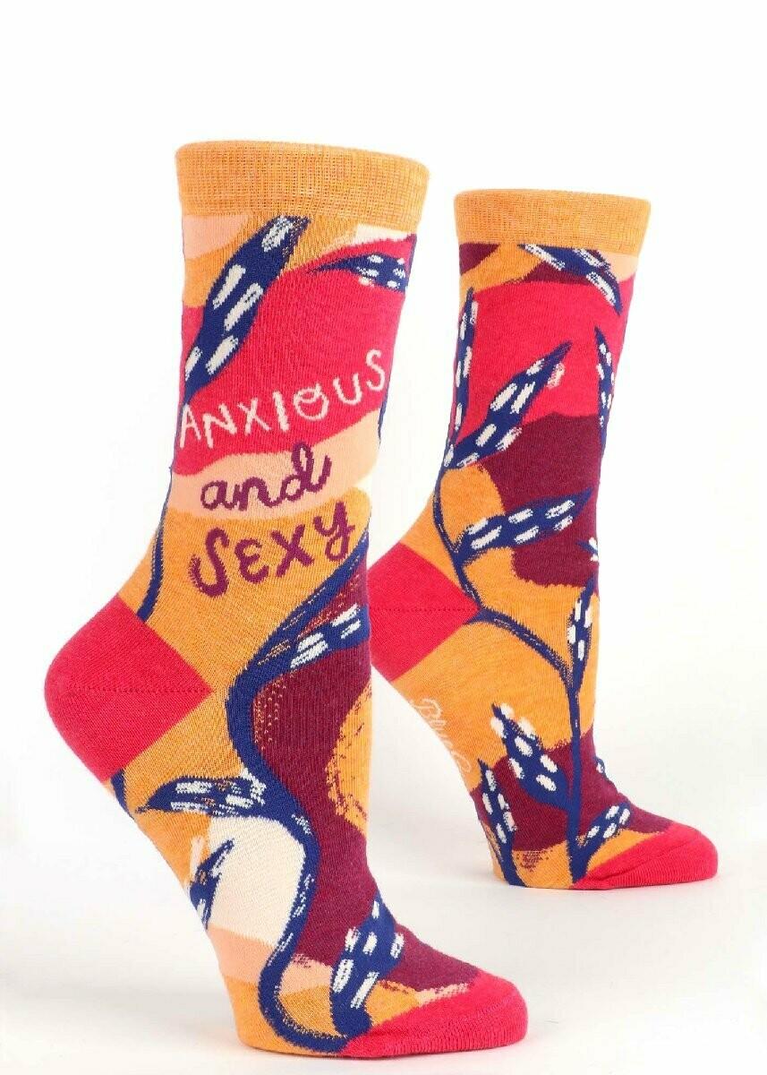 Sexy and Anxious Women's Socks