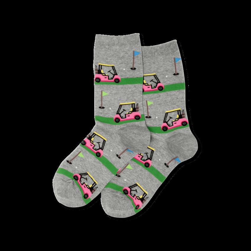 Golf Carts - SWTGH Womens Socks