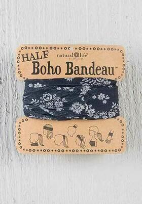 Black & Cream Half Boho Bandeau