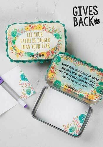 Let Your Faith Prayer Box