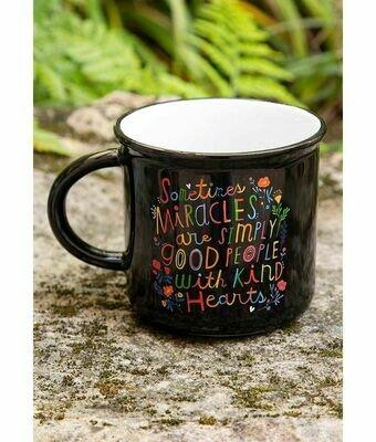 Sometimes Miracles Camp Mug