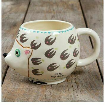 It's the Little Things Hedgehog Mug