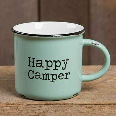 Happy Camper Camp Mug