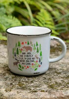 And Into the Forrest Camp Mug