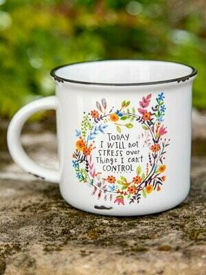 Today I Will Not Stress Camp Mug