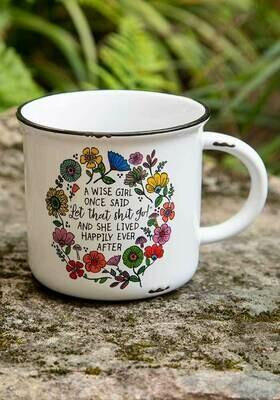 Wise Girl Camp Mug