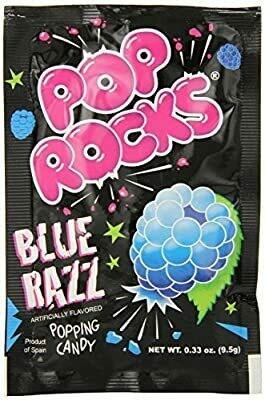 Pop Rocks Blue Razz