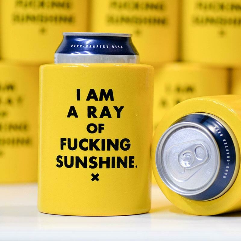 I Am a Ray of Fucking Sunshine Coozie