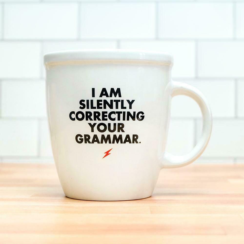 I Am Silently Correcting…Mug
