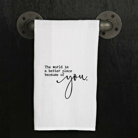 The World is a Better Place Towel