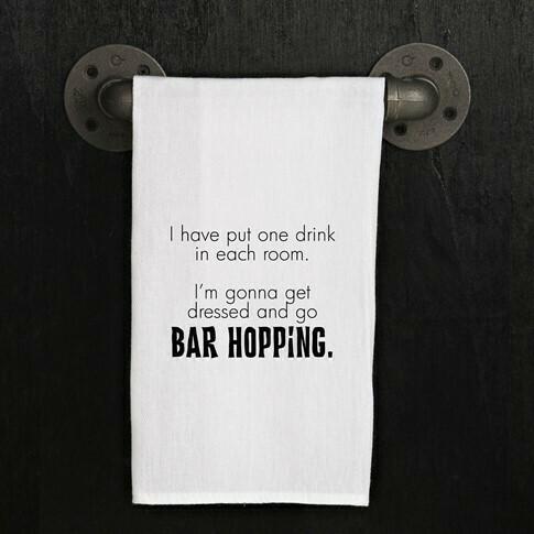 Bar Hopping Towel