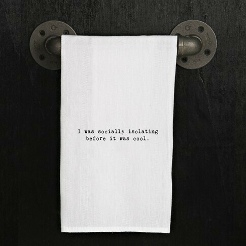 Socially Isolating Towel