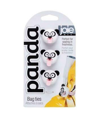 Panda Bag Ties Set/3
